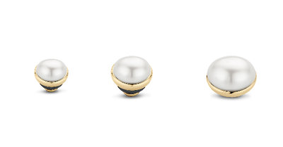 Twisted Pearl White gold Melano
