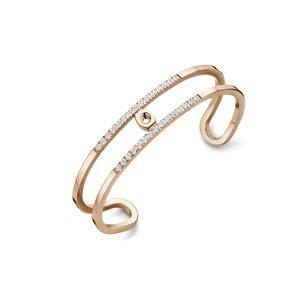 Trixie Twisted Armband Melano Rose Gold