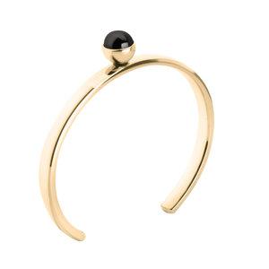 Tyra Bangle MelanO Twisted Armband Gold