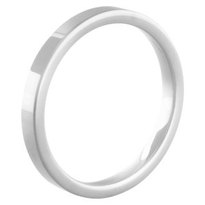 Eva White Ceramic Side ring MelanO
