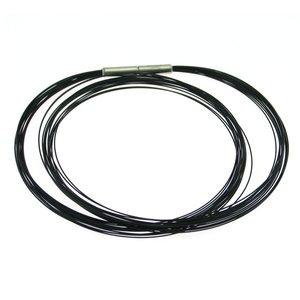 Collier Black Titanium Boccia 0859-0145  45cm