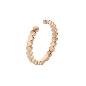 Tina Twisted MelanO Ring Rose Gold