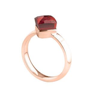 Cubic Rose Gold Ring Melano