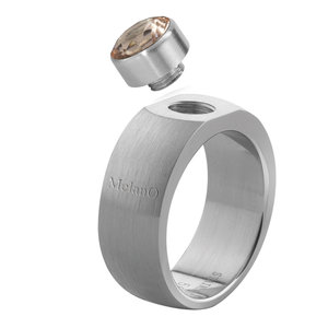Sturdy Mat MelanO ring Rond 8mm Maat 61