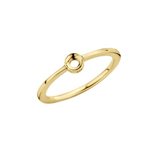 Petite Twisted Gold Melano Ring