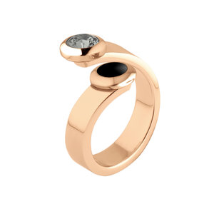 Sale: Rose Gold Vivid ring Violet Melano
