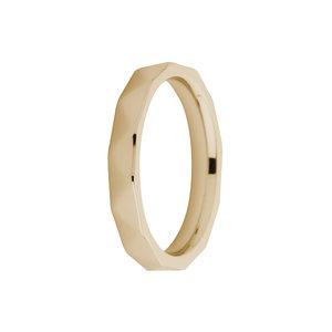 Sale: Gold facet Sarah Friend Ring melanO