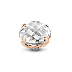 Crystal Facet Bold Twisted Rose Gold Zetting MelanO
