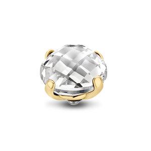 Crystal Facet Bold Twisted Gold Zetting MelanO