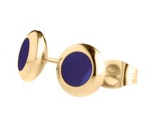 Blue GOLD Vivid Oorstekers MelanO