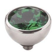 Emerald Green silver Twisted MelanO