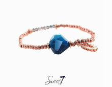 Sweet7 Bracelet Rose Gold Turquoise with Love