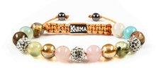 Karma Armband Spiral White Miracle 33082
