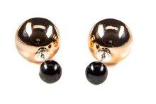 Karma Double Dots® Golden Eye(Tribal) oorbellen 11073