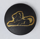 Sterrenbeeld Leeuw - Leo Black & Gold Babouche Baboos