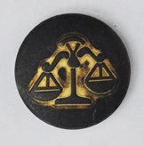Sterrenbeeld Weegschaal - Libra Black & Gold Babouche Baboos