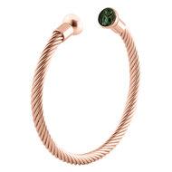 Taylor Twisted Rose Gold  MelanO Armband - Large