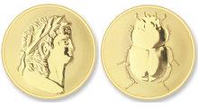 Roma - Scarabee MAT MEDIUM Gold Mi Moneda