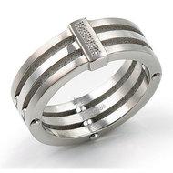 Ring Titanium Boccia Maat 18.25   0126-0157