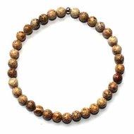 Landschap Jaspis Edelsteen armbanden Medium ( polsmaat 18 -20cm )