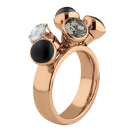 Tess Twisted Ring Rose Gold Melano