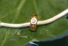 Goldplated zirkonia Petite 21.16042