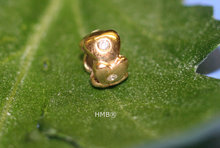 Goldplated zirkonia Petite 21.16043