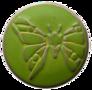 Babouche-Baboos-Drukker:-Vlinder-Groen