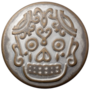 Babouche-Baboos-Drukker:-Mâori-Skull