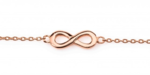 infinity-Trendy-Armband-Rose-Gold-Plated-(zilver-)