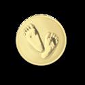 Baby-Feet--Gold-XS-munt-Mi-Moneda