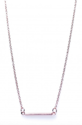 Square-Round-Karma-Tube-Necklace-RoseGold-plated-Silver