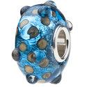 Dots-of-Blue-Glaskraal-met-hele-zilveren-kern