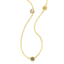 Gold-Cambio-Wisselbare-Click-Colliier-Mi-Moneda-90cm